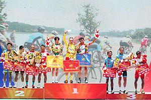 TP.HCM đoạt ngôi nhất đồng đội giải xe đạp HTV 2019