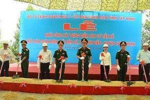 Quân khu 7 xây dựng điểm dân cư liền kề chốt dân quân biên giới