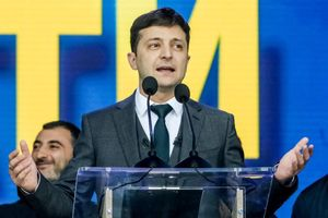 Vừa đắc cử, tân Tổng thống Ukraine đã ngay lập tức khiến Nga 'nóng mặt'