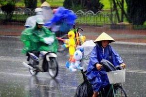 Miền Bắc hạ nhiệt đón mưa giông diện rộng