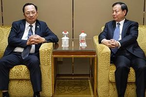 Thứ trưởng Nguyễn Văn Thành tiếp xúc với Thứ trưởng Bộ Công an Trung Quốc