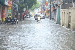 Nhiều khu vực ở Hà Nội úng ngập là do mưa tập trung