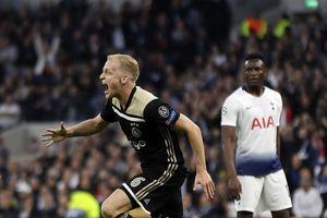 Hạ đẹp Tottenham, 'ngựa ô' Ajax đặt một chân vào chung kết Champions League