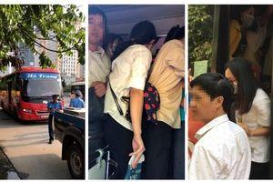 Hà Nội: Phát hiện xe 29 chỗ nhồi nhét 73 người