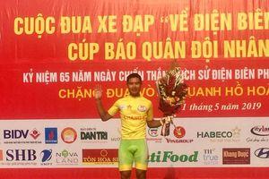 Tập đoàn Lộc Trời thắng lớn chặng đầu tiên giải xe đạp 'Về Điện Biên'