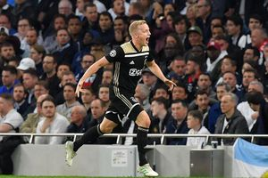 Đánh bại chủ nhà Tottenham, Ajax sáng cửa vào chung kết Champions League