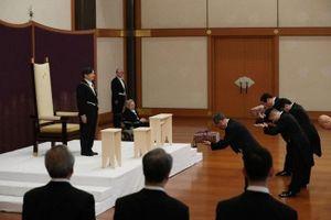 Tân Nhật hoàng Naruhito lên ngôi, triều đại Lệnh Hòa chính thức bắt đầu