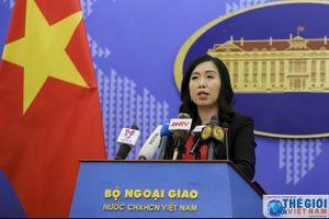 Bộ Ngoại giao trao công hàm liên quan đến vụ việc Indonesia bắt giữ tàu cá và ngư dân Việt Nam