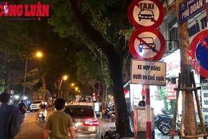 Hà Nội: Cấm taxi và taxi công nghệ trên 11 tuyến phố