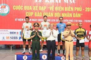 Cuộc đua xe đạp 'Về Điện Biên Phủ - 2019, Cúp Báo Quân đội nhân dân' chính thức khai mạc