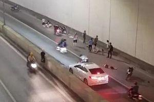 Tài xế xe Mercedes tông 2 phụ nữ tử vong ở hầm Kim Liên khai gì tại CQCA?