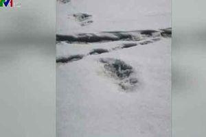 Quân đội Ấn Độ đăng ảnh phát hiện 'người tuyết'