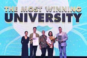 RMIT được vinh danh 'Đại học có nhiều đội đạt giải thưởng nhất' tại Vietnam Young Lions 2019