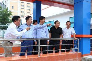 Bộ Tài Nguyên đánh giá cao nhà máy xử lý nước thải Sóng Thần 2