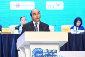 Thủ tướng gửi 4 thông điệp tới doanh nghiệp tư nhân