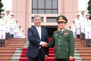 Việt Nam và Nhật Bản tăng cường quan hệ toàn diện về quốc phòng
