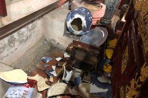 Bắc Ninh: Đối tượng 'ngáo đá' đập phá chùa Dâu
