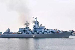 Tuần dương hạm Nga gây sốt tại Quân cảng Thanh Đảo