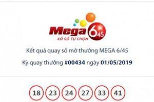 Xổ số Vietlott: 14 người hụt giải Jackpot Mega 6/45 hơn 19 tỷ đồng ngày hôm qua