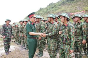 Kiểm tra công tác huấn luyện, sẵn sàng chiến đấu tại Trung đoàn 764