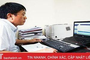 100% đơn vị sử dụng lao động ở Hà Tĩnh giao dịch điện tử thủ tục BHXH