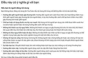 Vụ Khá Bảnh chưa lắng xuống, YouTube Việt Nam lại tràn ngập những video hướng dẫn chơi ma túy