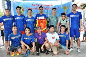 Bắc Giang: Giải bóng đá thanh niên