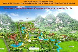 Nghệ An: Bảo tồn gắn với phát triển du lịch Khu di tích đền Cửa Lũy