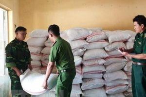 An Giang: Bắt giữ 2 vụ buôn lậu 10 tấn đường cát