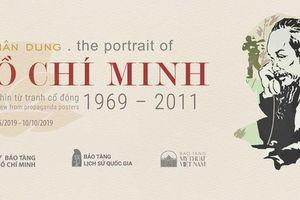 Trưng bày 60 tác phẩm chuyên đề 'Chân dung Hồ Chí Minh - Góc nhìn từ tranh cổ động'