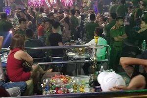Đột kích quán bar F3 Club, cảnh sát phát hiện 80 người dương tính ma túy