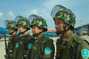 Nội Bài thắt chặt an ninh trước lễ di quan đại tướng Lê Đức Anh