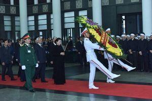 Trọng thể lễ viếng nguyên Chủ tịch Nước, Đại tướng Lê Đức Anh