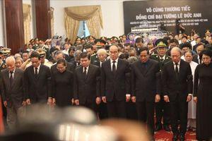 Lễ viếng nguyên Chủ tịch Nước Lê Đức Anh tại Hội trường Thống Nhất