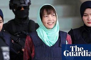 Đoàn Thị Hương được trả tự do, rời nhà tù ở Malaysia