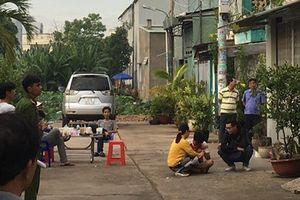 Vụ thảm án 3 người chết ở Bình Tân: Công an phong tỏa hiện trường