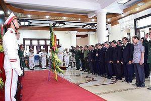 Trang trọng lễ viếng, lễ truy điệu nguyên Chủ tịch nước, Đại tướng Lê Đức Anh tại Huế