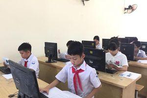 Học sinh Hải Phòng tranh tài tại hội thi tin học trẻ