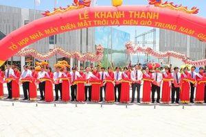 Trung Nam Group khánh thành tổ hợp nhà máy điện mặt trời và điện gió tại Ninh Thuận