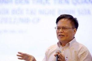TS Nguyễn Đình Cung: Làm theo tiến độ, tiến theo quy trình không thể dẫn tới đổi mới sáng tạo