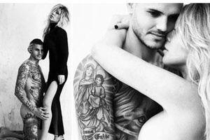 Choáng: Icardi và vợ khoe ảnh trần như nhộng