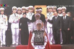 Lễ truy điệu nguyên Chủ tịch nước, Đại tướng Lê Đức Anh