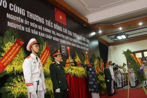 Trang nghiêm, xúc động lễ viếng Đại tướng Lê Đức Anh tại quê hương Huế