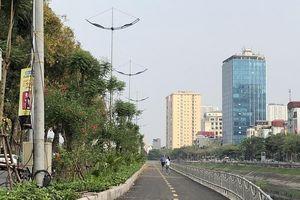 Tuyến đường đi bộ ven sông đầu tiên ở Hà Nội chính thức đi vào hoạt động