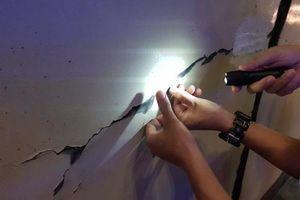 Hầm Hải Vân lại nứt do sơn epoxy?