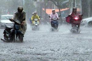 Bắc Bộ và Bắc Trung Bộ mưa dông diện rộng