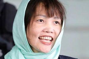 Đoàn Thị Hương được Malaysia trả tự do