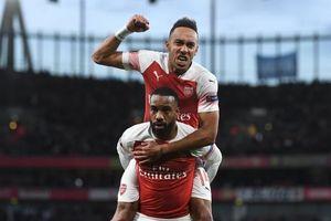 Aubameyang và Lacazette lập công, Arsenal ngược dòng trước Valencia