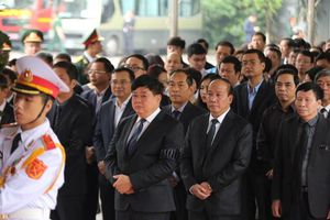Lãnh đạo Đài Tiếng nói Việt Nam viếng nguyên Chủ tịch nước Lê Đức Anh