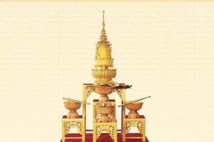 Những bảo vật quyền uy được trao cho nhà vua Thái Lan khi lên ngôi